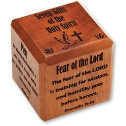 Gifts of the Holy Spirit Scripture Cube