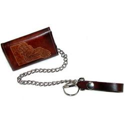 Wildlife Embossed Trucker Chain Wallet