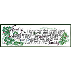 Cherish the Family Plaque