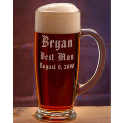 Personalized Groomsmen Austria Beer Mug