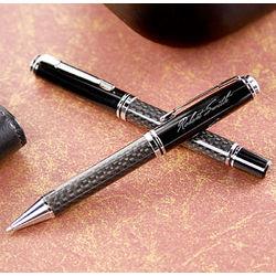 Carbon Fiber Pen Set