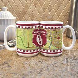 """Road to"" Oklahoma University Mugs"