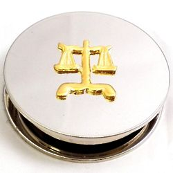 Legal Chrome Magnifier and Paperweight