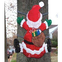Santa Crash Tree Wrap