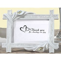 Elegant Calla Lily Place Card Frame