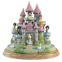 Ultimate Disney Princess Castle Sculpture