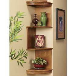 Signature Corner Shelf