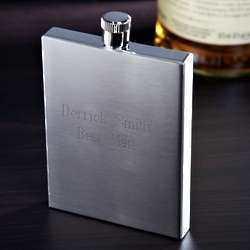 Squared Up Stainless Steel Flask