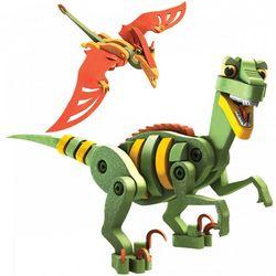 Velociraptor & Pterosaur Model Set