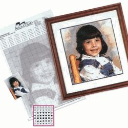 Stitch-A-Photo Personalized Needlework Kit