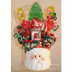 Santa Mini Lollipop Bouquet