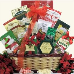Festive Cheer Holiday Gift Basket