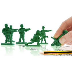 War on Error Army Men Erasers