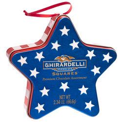 Patriotic Star Chocolate Gift Tin