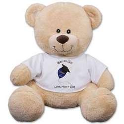 Personalized Graduation Balloon Teddy Bear