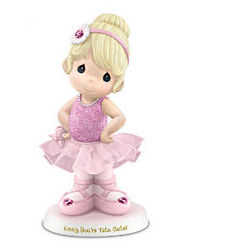 Precious Moments Personalized Ballerina Figurine