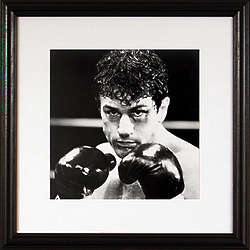 Framed Robert Deniro Raging Bull Print