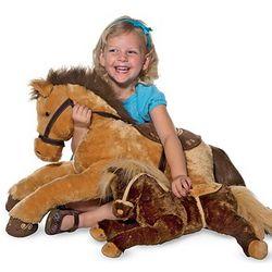 Plush Snuggle Horse Toy