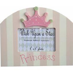 Wooden Princess Crown Frame
