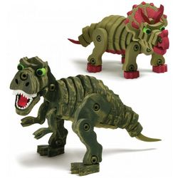 Tyrannosaurs Rex and Triceratops 3-D Jigsaw Puzzles