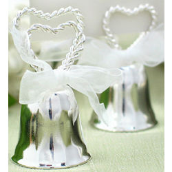 Heart Bell Placecard Favors