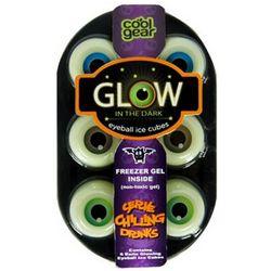 Glow in the Dark Eyeball Ice Cubes