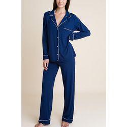 Navy Long Sleeve Pajama Set