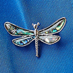 Wilde Pearle Dragonfly Pin