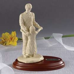 Engraved Father Daughter Dance Wedding Figurine