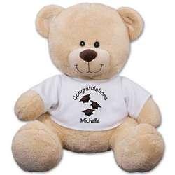 Personalized 21-Inch Graduation Teddy Bear