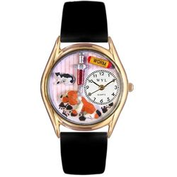 Gold Veterinarian Watch