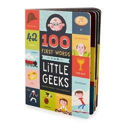 100 First Words for Little Geeks Children's Book