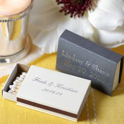 Personalized Matchbox Favors