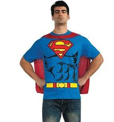 Superman Shirt Costume