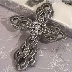 Blessed Events Decorative Pewter Cross