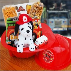 Little Firefighter Gift Basket