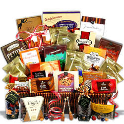 Ultimate Coffee and chocolates Basket