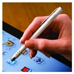 Pearl White TruGlide Stylus with Clip