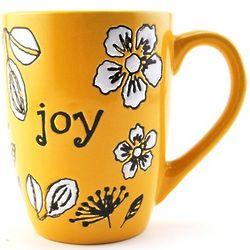 Joy Floral Coffee Mug