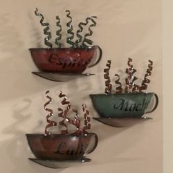 3-Piece Coffee House Wall Art Set