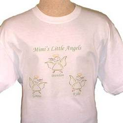 Personalized Little Angels T-Shirt