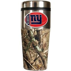 New York Giants Travel Tumbler with Camouflage Wrap