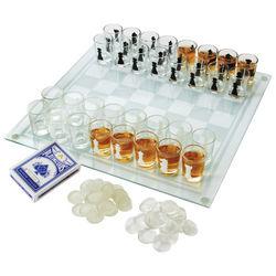 Checkmate Shot Glass Chess Game Set