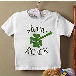 Sham-Rock Personalized Infant T-Shirt