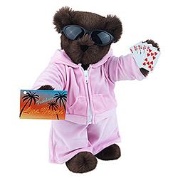 "15"" Casino Teddy Bear"