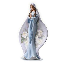 Blessed Virgin Mary Heirloom Porcelain Figurine