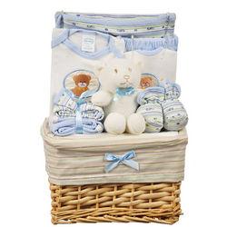 Boys Teddy Bear Gift Basket