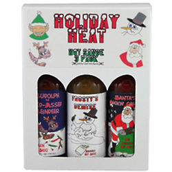 Holiday Heat Hot Sauce Gift Pack
