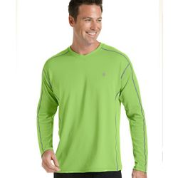 Men's Long-Sleeve Fitness Shirt UPF 50+