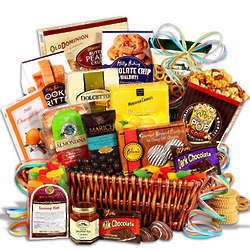 Premium Sweets Snack Basket